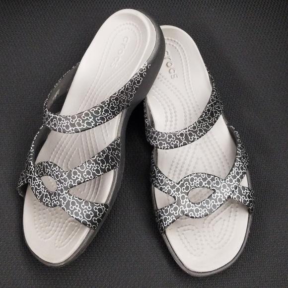 9236f9d1d CROCS Shoes - Women s Disney Crocs Sandals HTF